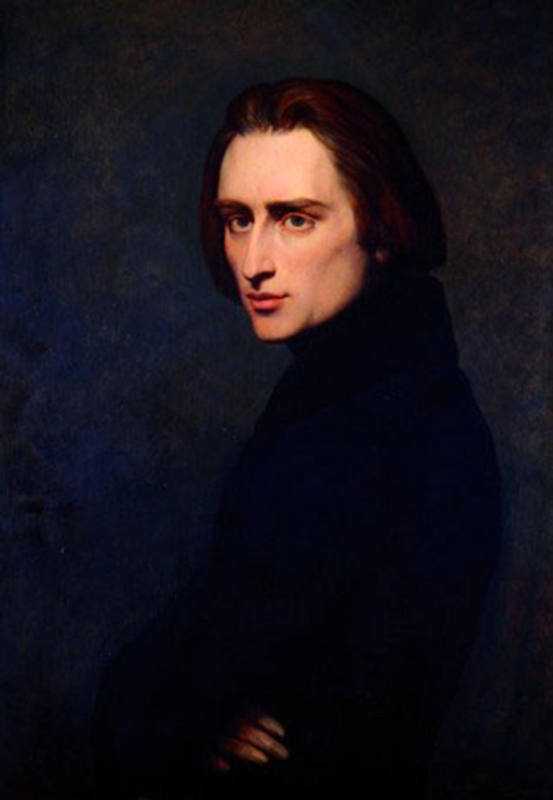 Musiques du cygne dans Musique Ary_Scheffer_-_Franz_Liszt