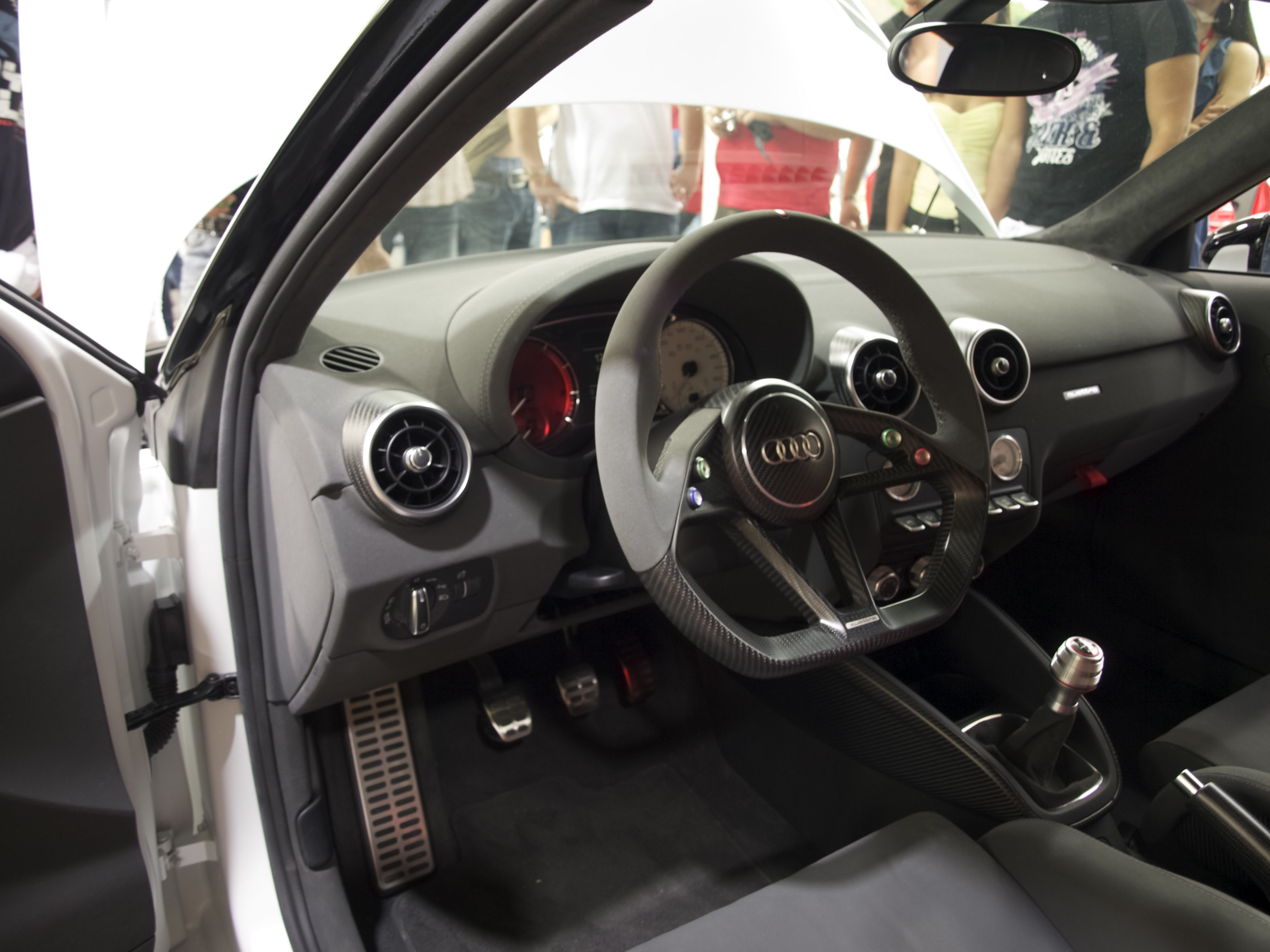 File Audi A1 Clubsport Quattro Dashboard And Steering