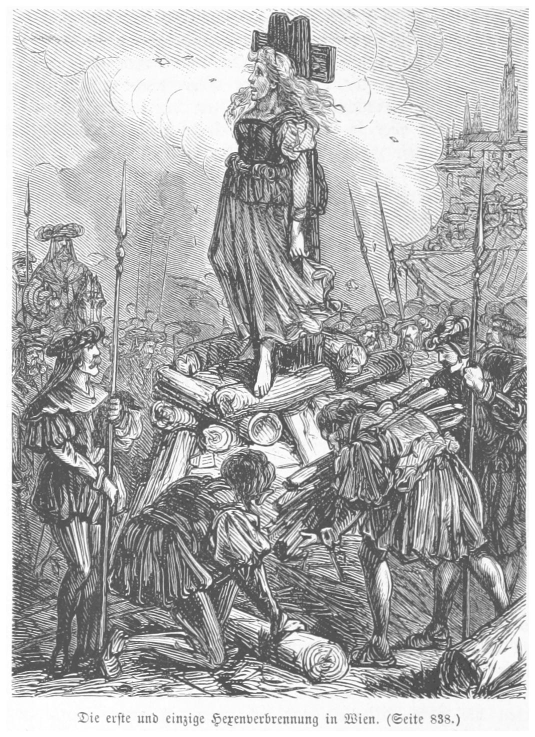 BERMANN(1880) p0884 Die einzige Hexenverbrennung zu Wien.jpg