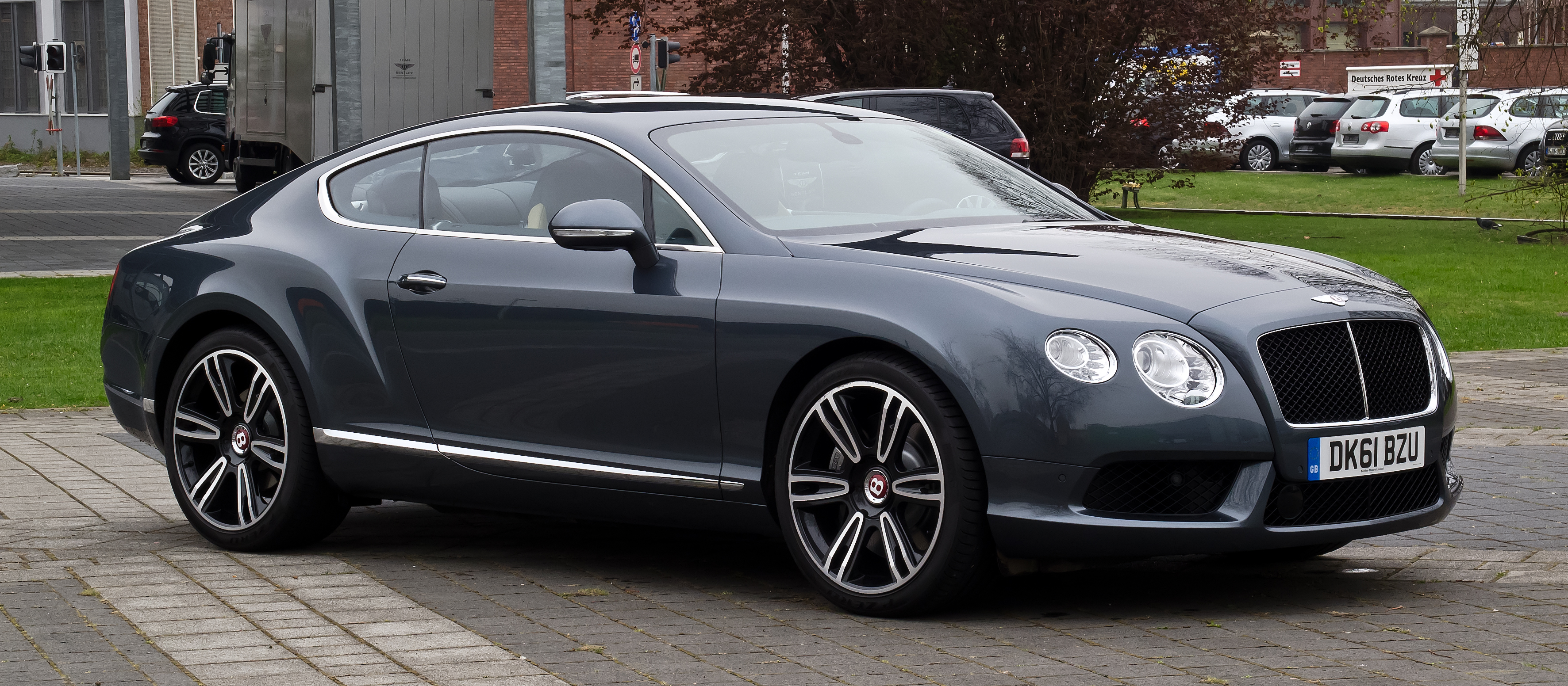 File Bentley Continental Gt V8 Ii Frontansicht 4 5