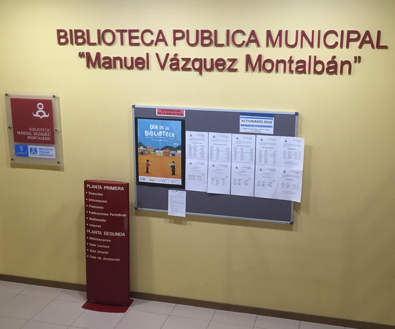 Biblioteca Pública Municipal Vázquez Montalbán.