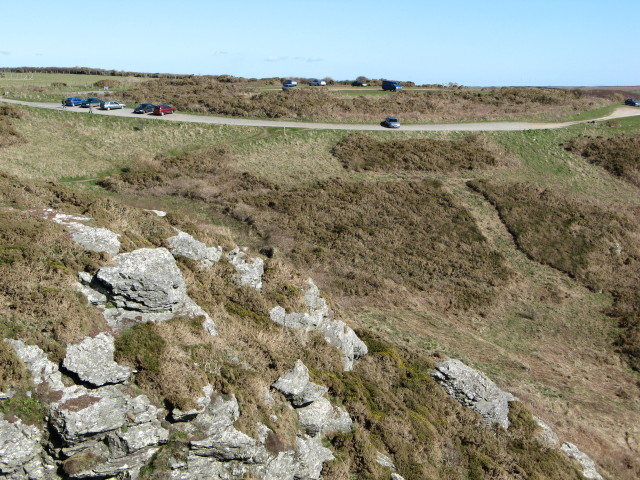 Bolberry Down cliff car park - geograph.org.uk - 373019