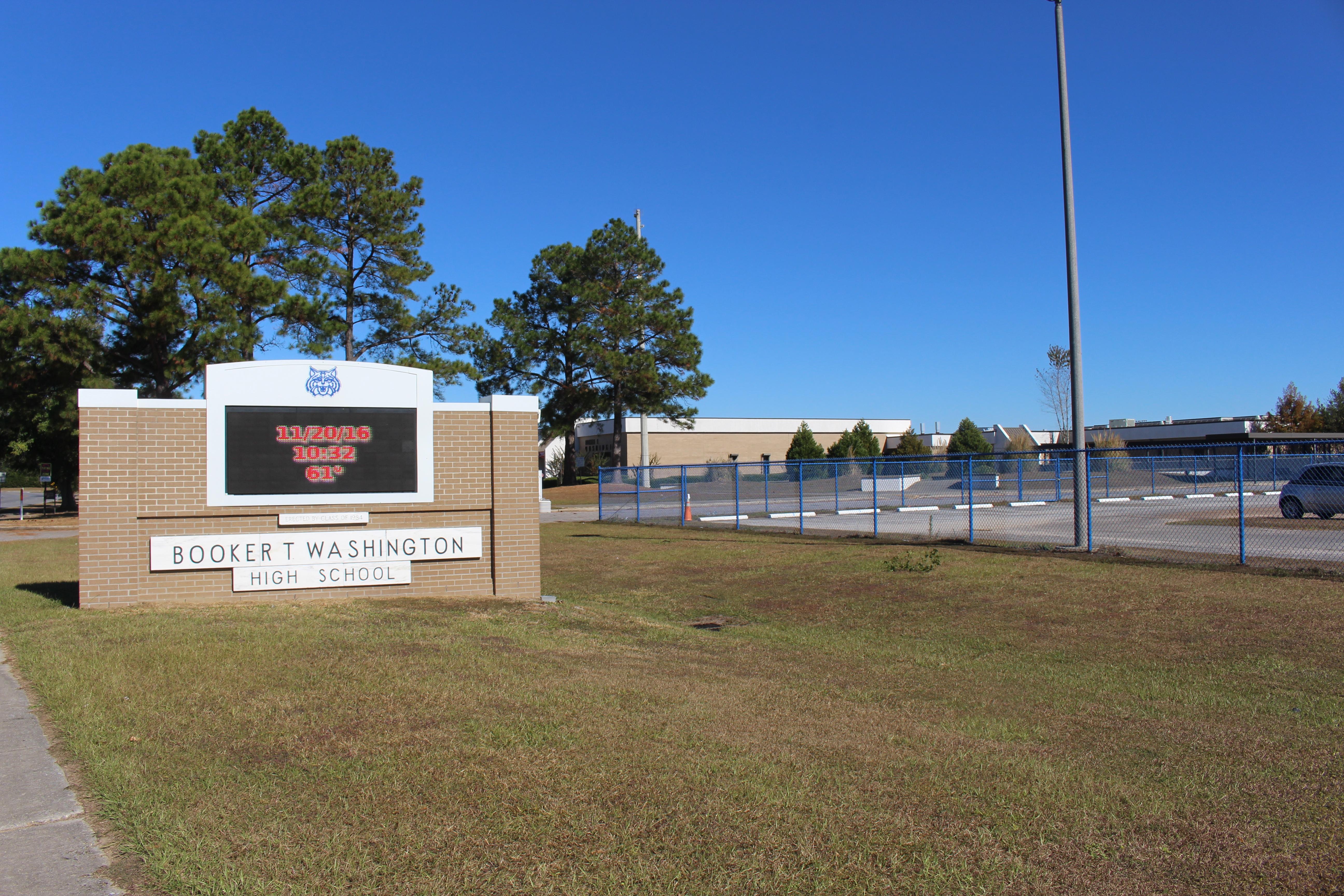 Booker T Washington High School Pensacola Florida