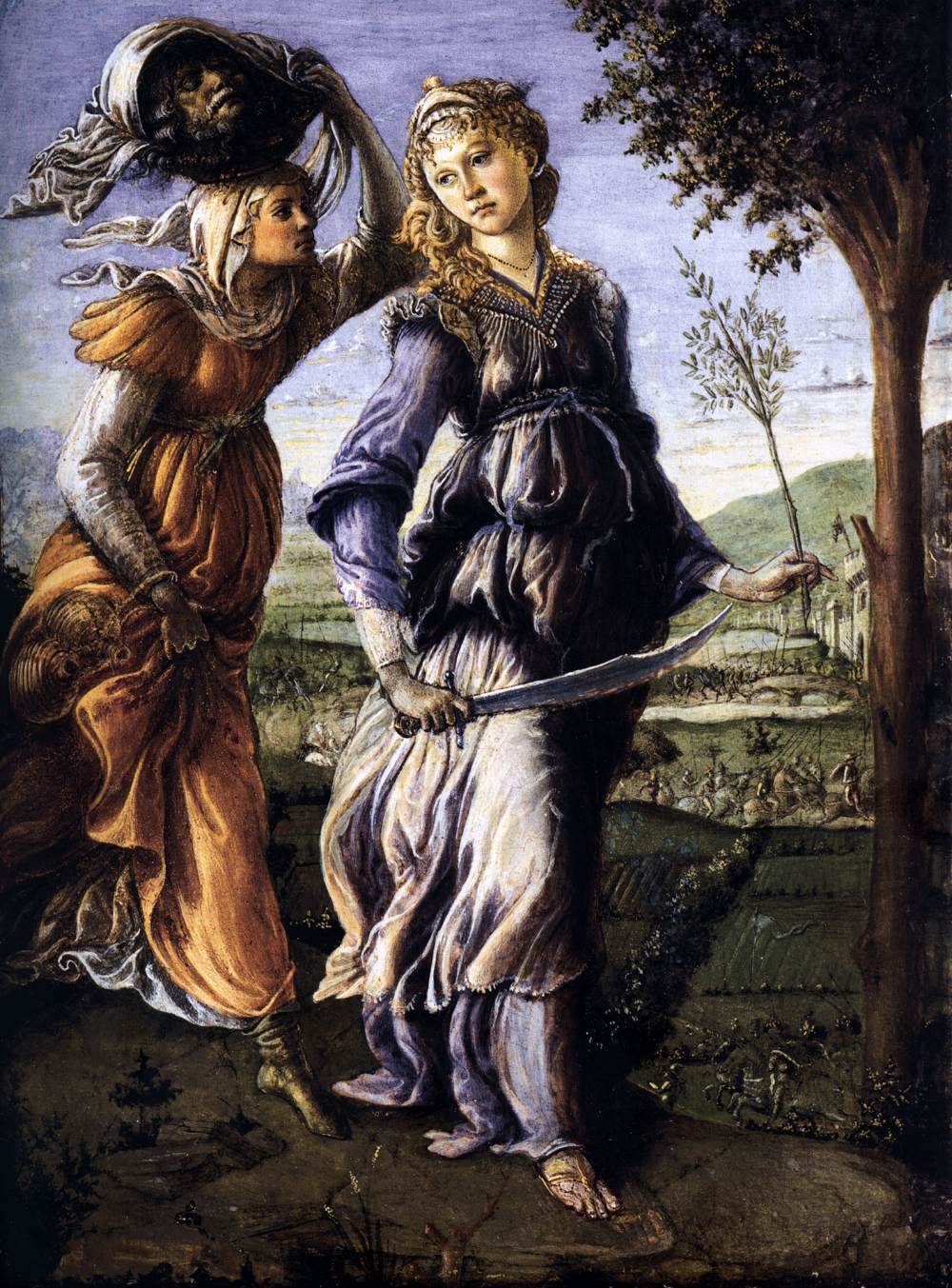 Botticelli - Return of Judith, (CC-BY-SA), http://upload.wikimedia.org/wikipedia/commons/c/cd/Botticelli_-_Return_of_Judith.jpg