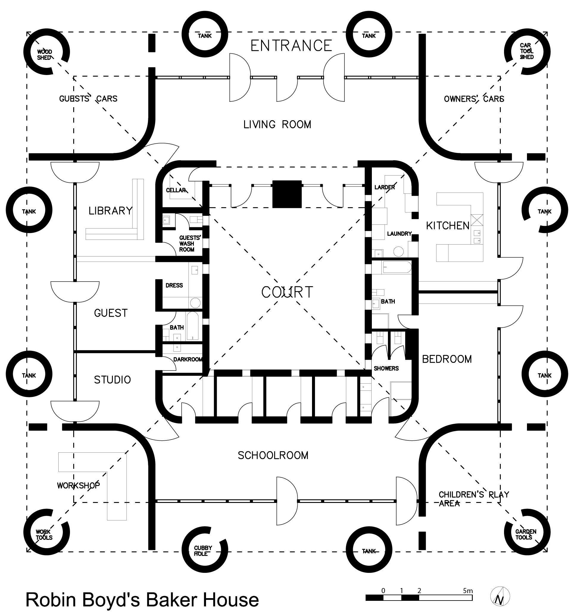 Build Your Own House Floor Plans File Boyd Baker House Plan Png Wikimedia Commons