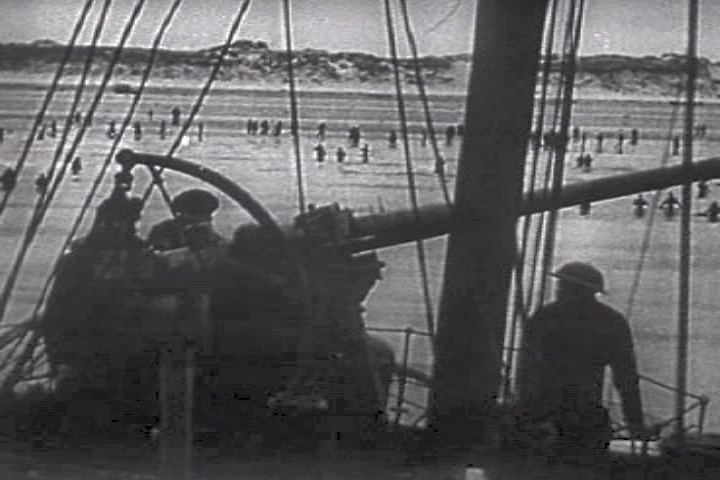 British gunner ship dunkirk