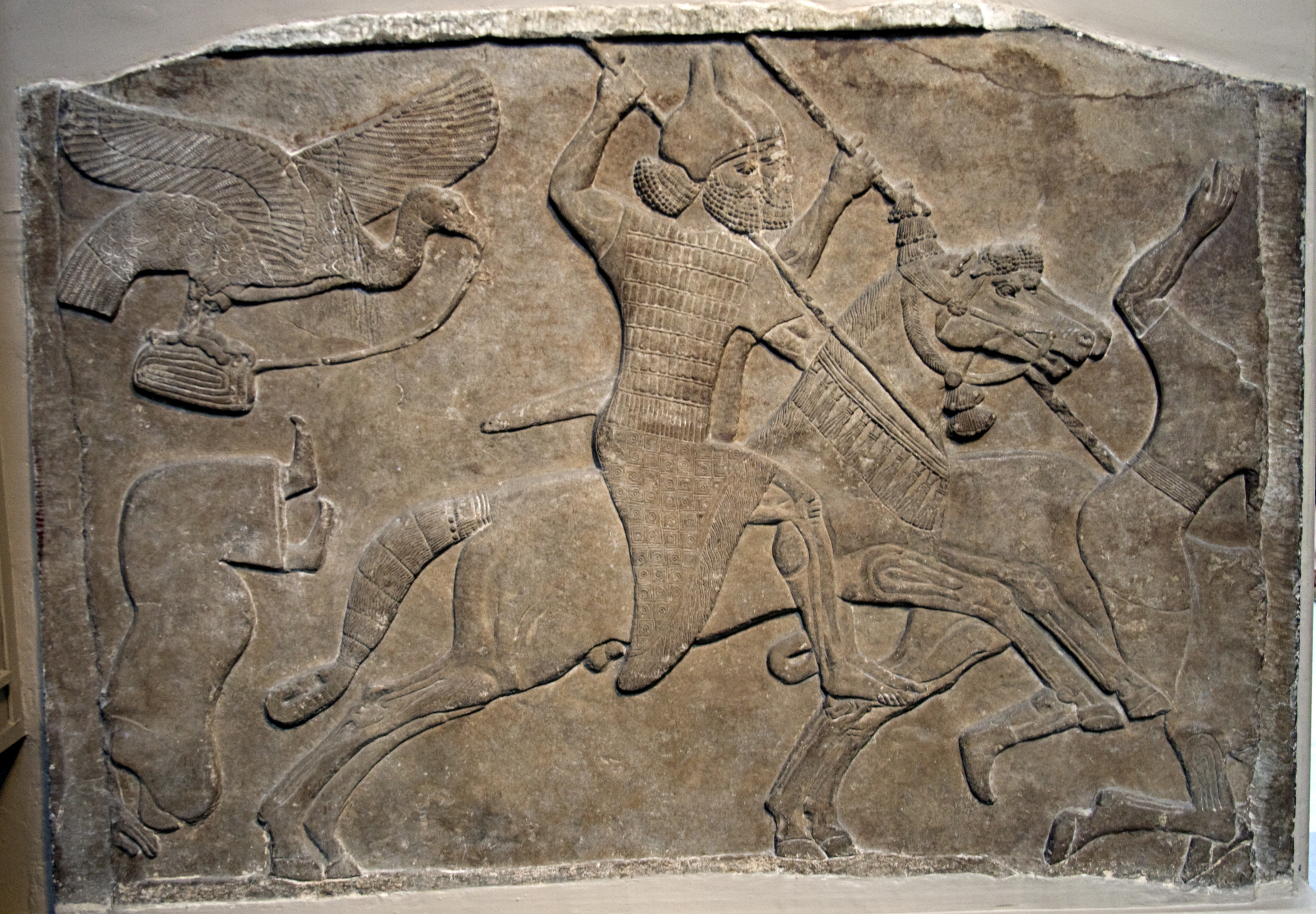 The Assyrian Lion Hunt Reliefs History On DocuWatch Free Streaming Docume