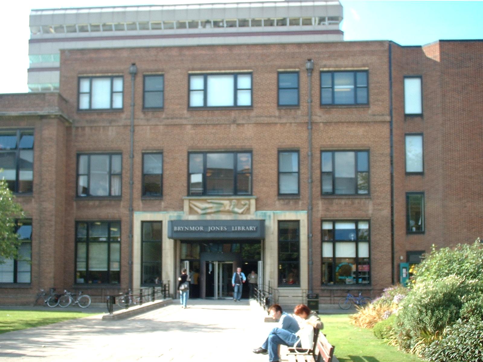 Hull University Library Bjn Room