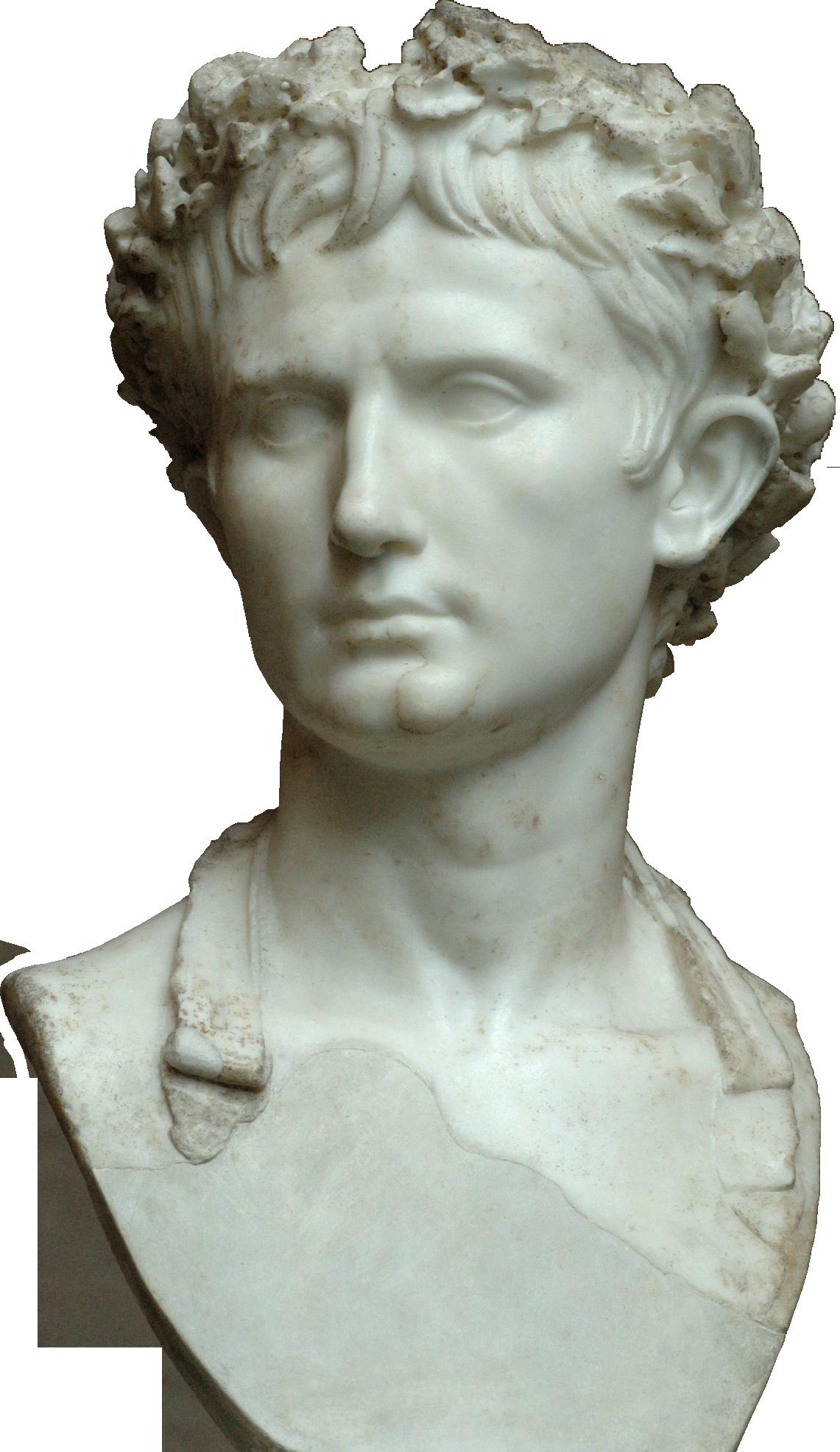 File:Bust of the Augus... Octavius Julius Caesar