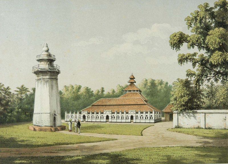 Berkas:COLLECTIE TROPENMUSEUM De moskee en minaret in Karang Antu TMnr 3728-818.jpg