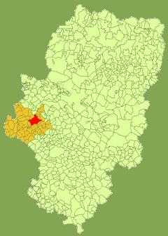 卡拉泰烏德的位置