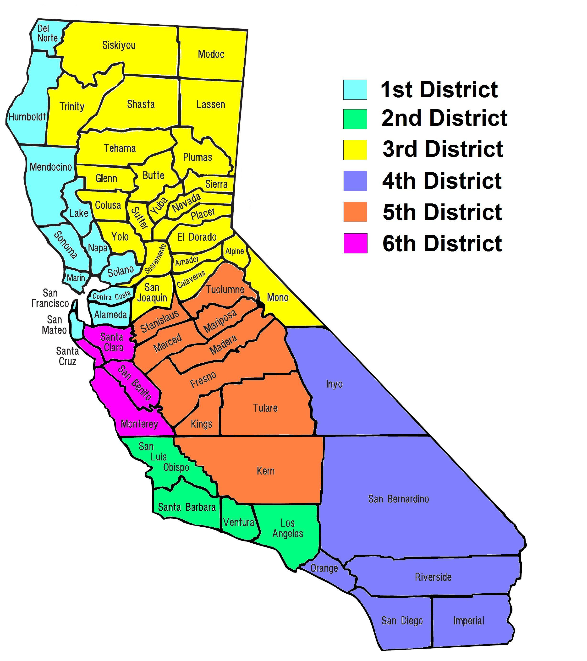 File:California Counties and Court of Appeals Map.JPG - Wikimedia ...