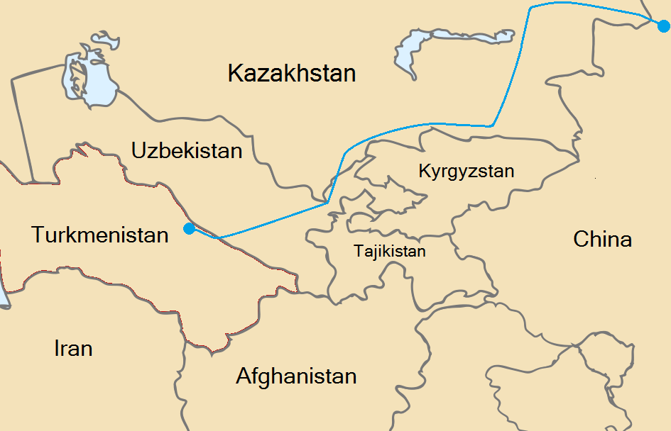 be5c978315be6 Central Asia–China gas pipeline - Wikipedia