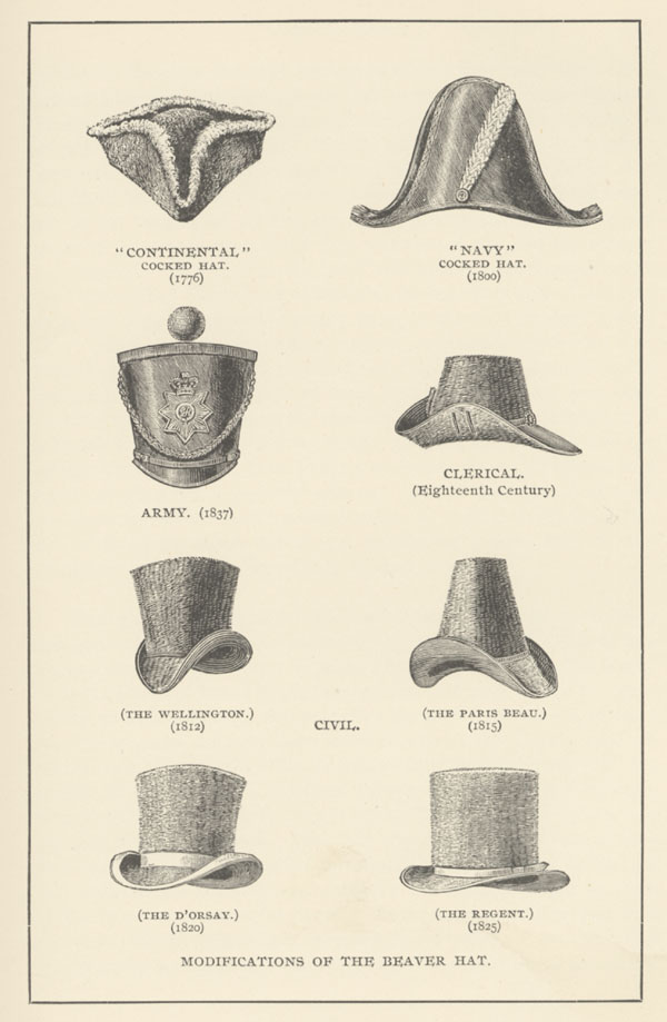 18th and 19th Century Hats