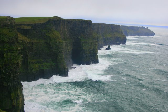 The awe inspiring Cliffs of Moher
