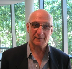David Malouf picture at book meeting.