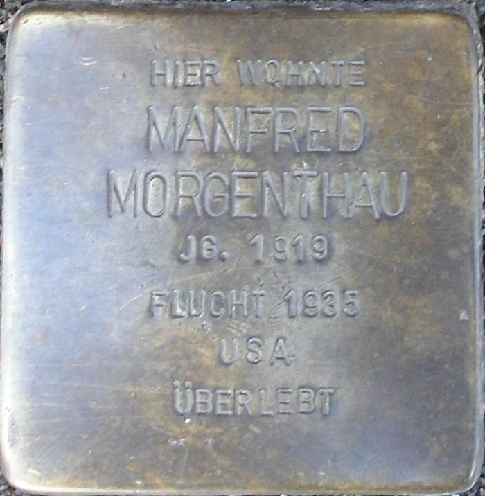 Deidesheim Stolperstein Manfred Morgenthau.png