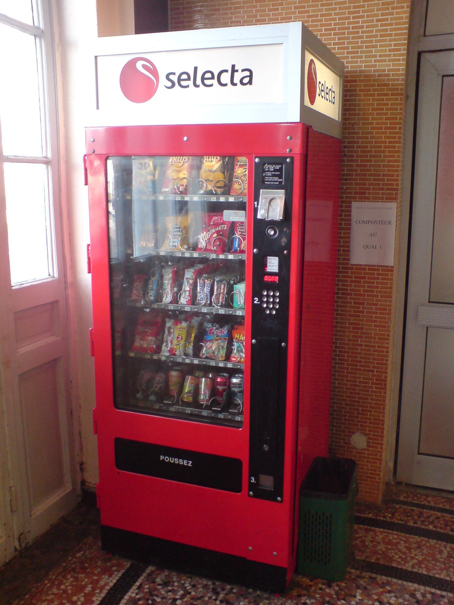 Selecta Machine  Ef Bf Bd Caf Ef Bf Bd Sur Support