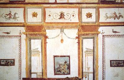Grottesca wikipedia for Design in stile romano