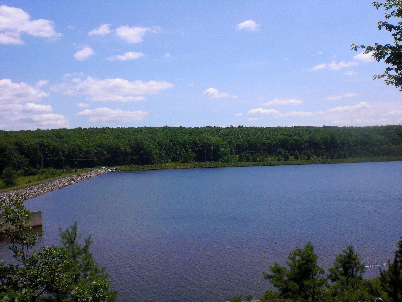 Dreck Creek Reservoir in Hazle Township Hazle