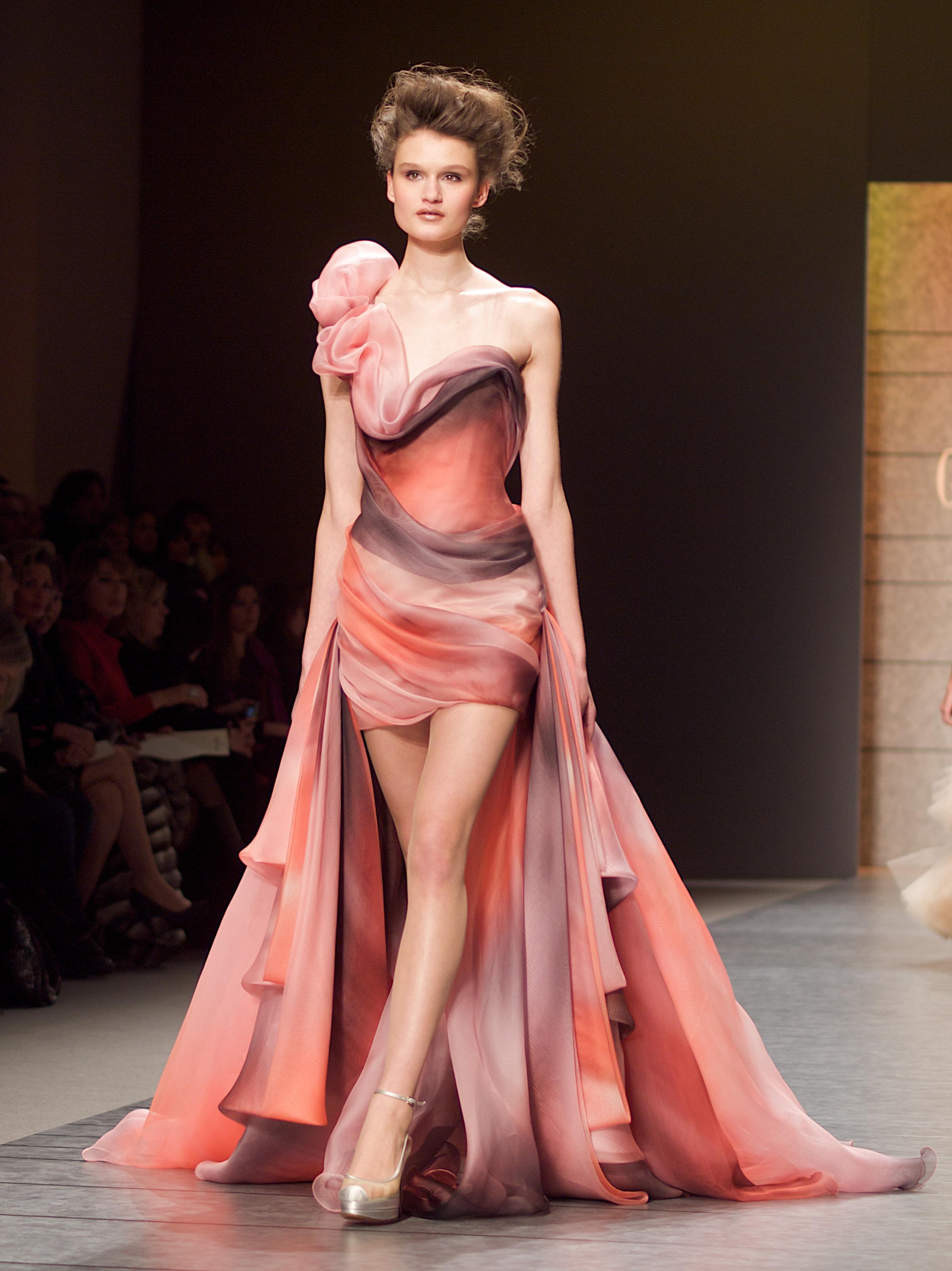 Dior Fashion Show Look Fairytale Theme