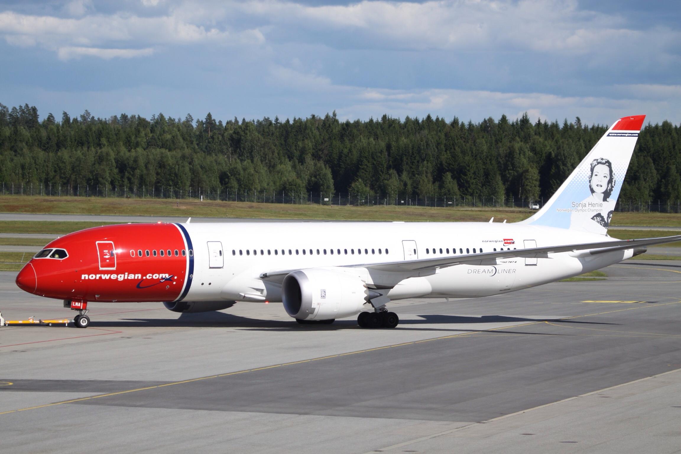 norwegian flyruter