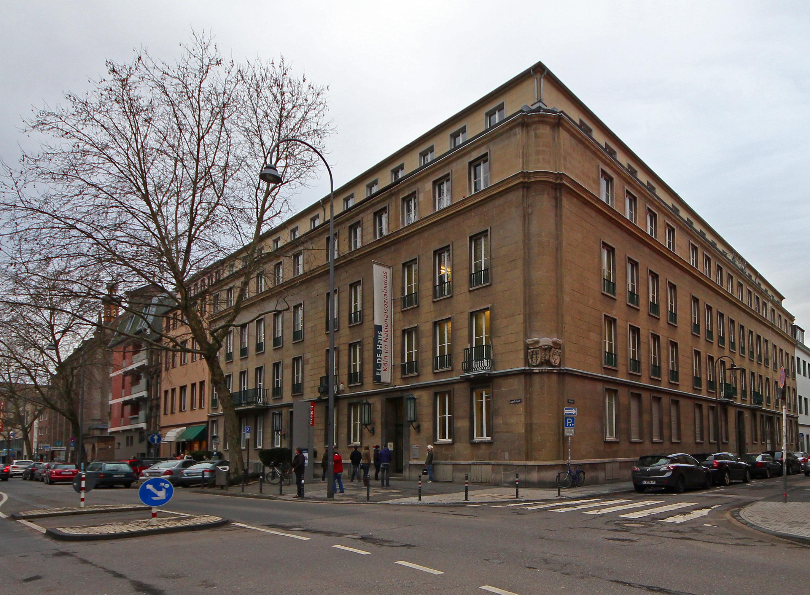 EL-DE Haus, exterior view