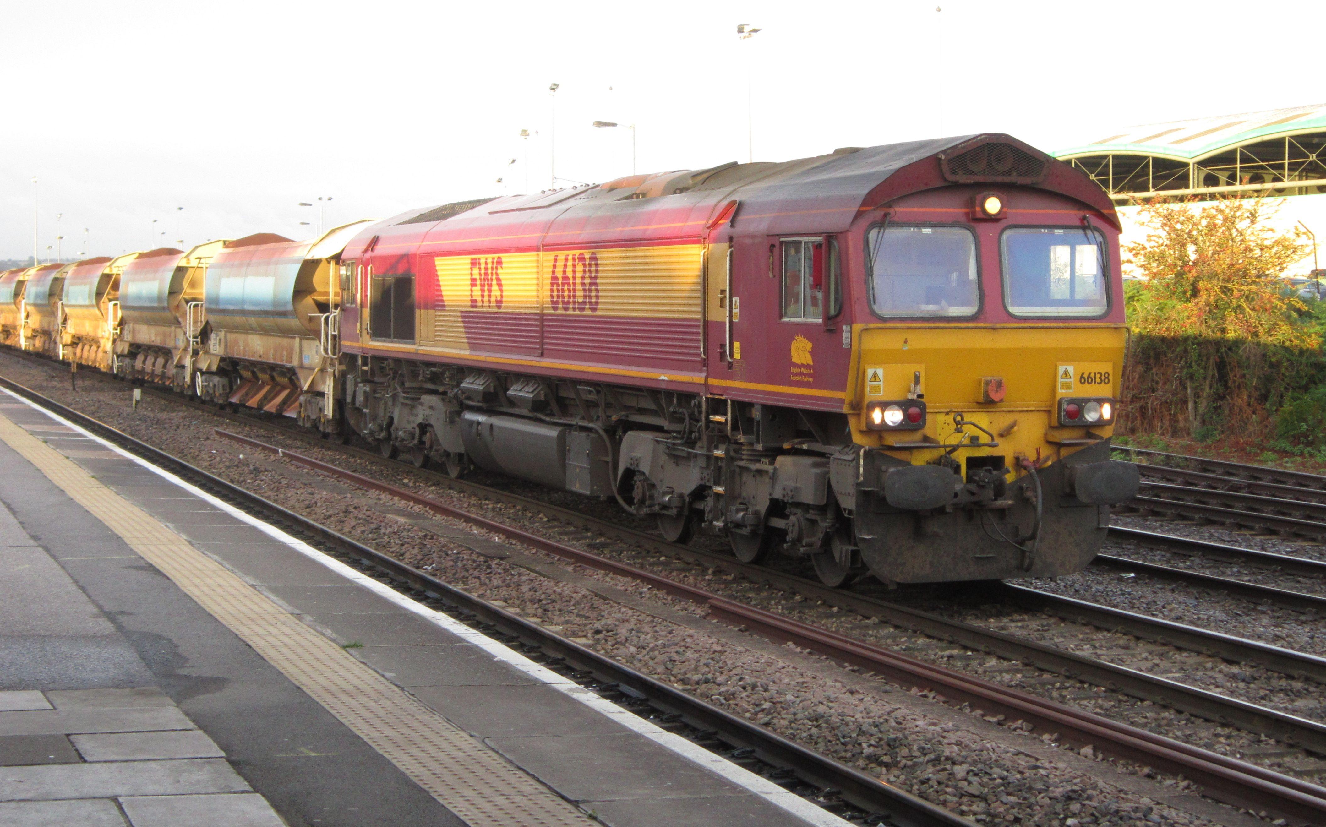 Emd Jt42cwr British Rail Class 66