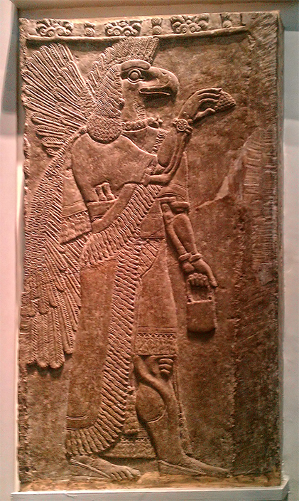 https://upload.wikimedia.org/wikipedia/commons/c/cd/Eagle-Headed_Protective_Spirit_Assyrian,_about_865-860_BC_from_Nimrud,_Temple_Ninurta_-_British_Museum.jpg