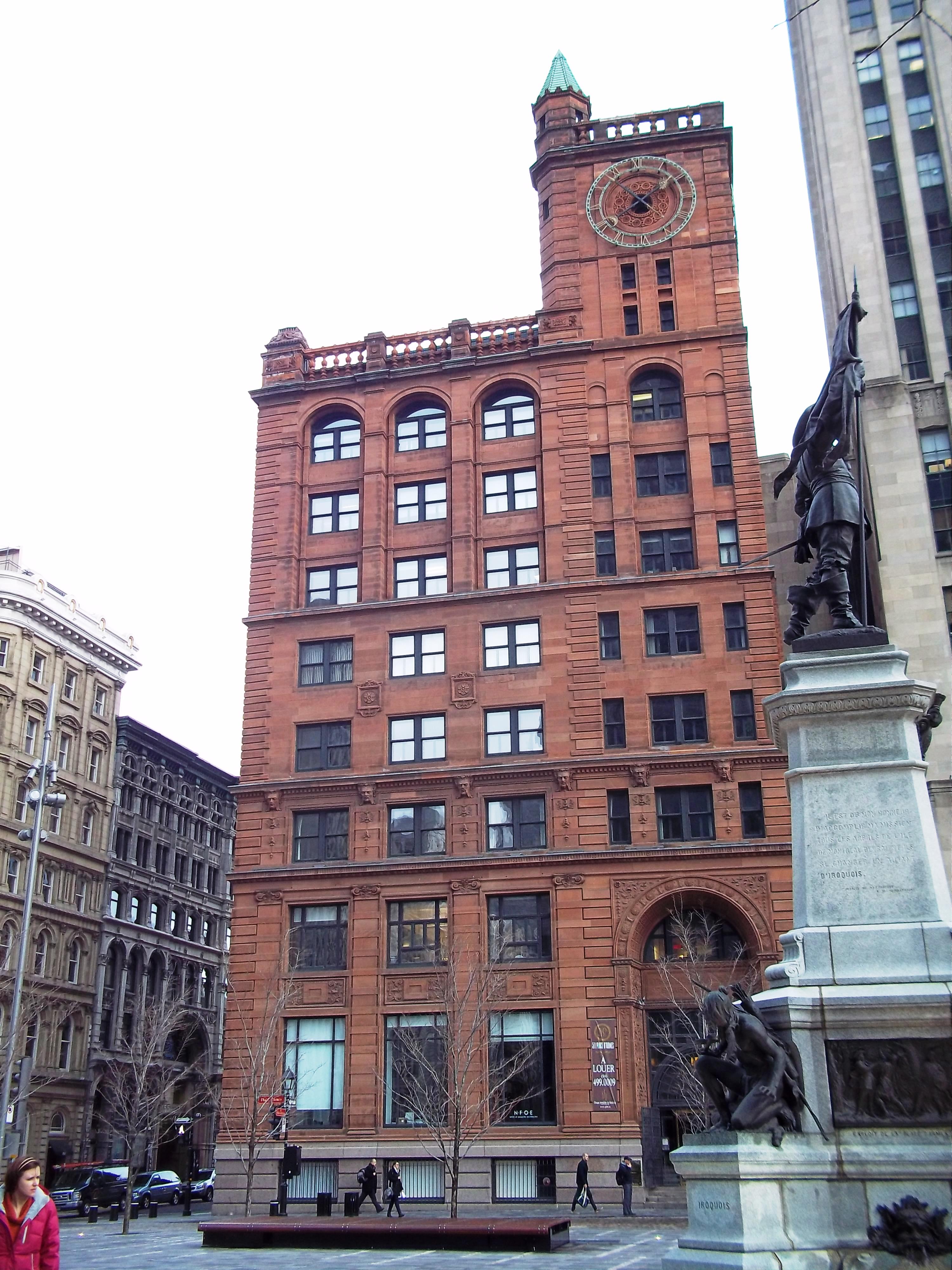 Newyork Life Insurance >> New York Life Insurance Building Montreal Wikipedia