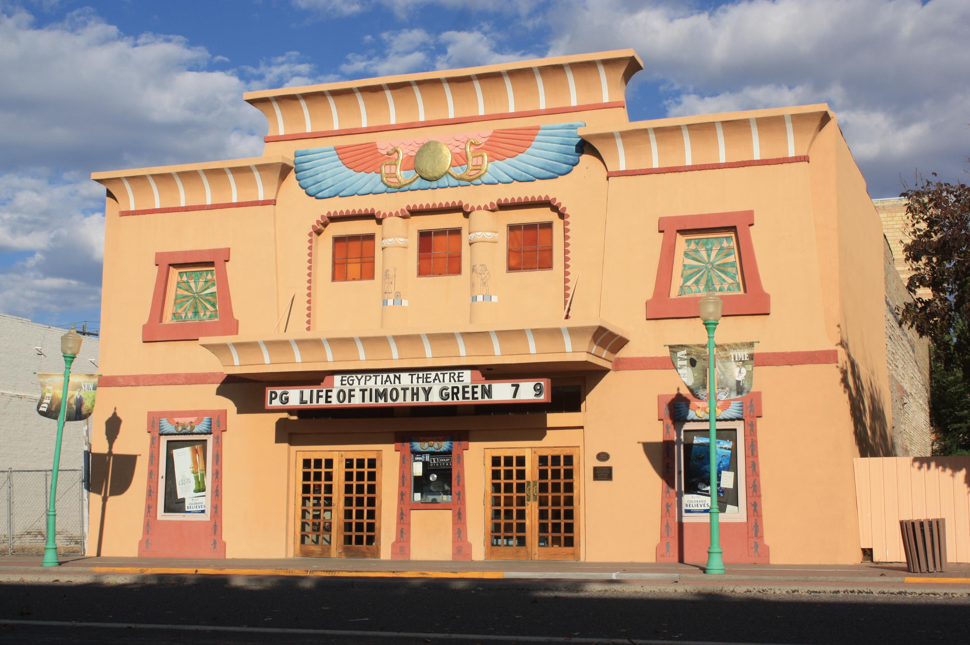 Egyptian Theatre Delta Colorado