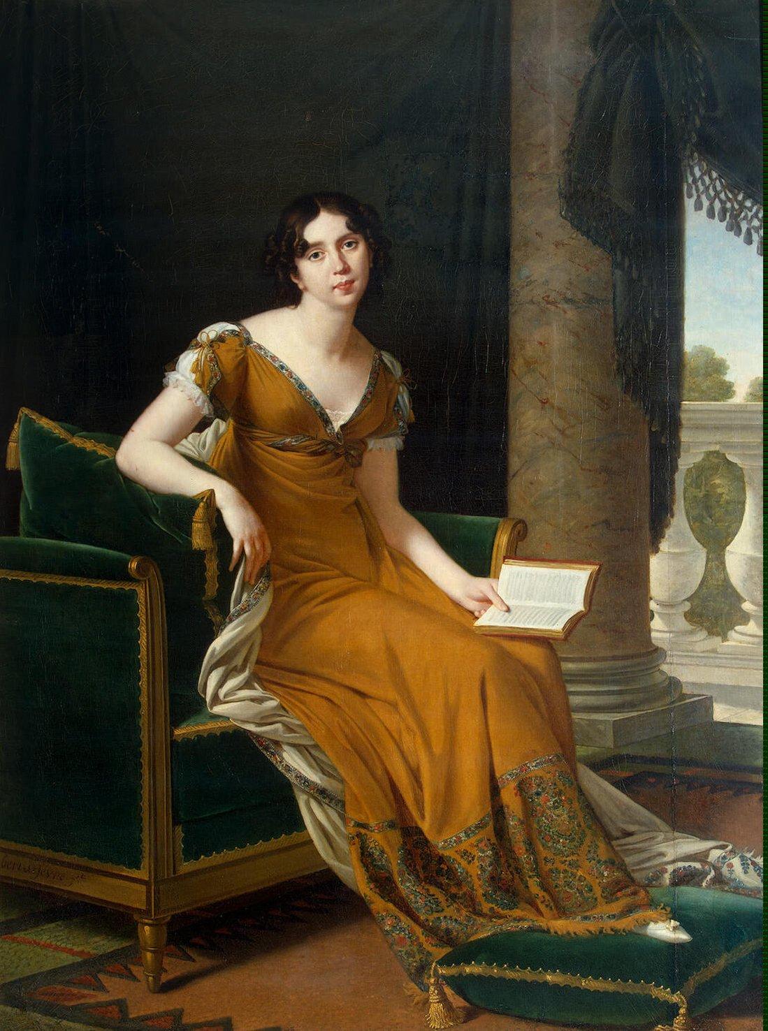 Robert Lefèvre Elisabeth Stroganoff, comtesse Demidoff