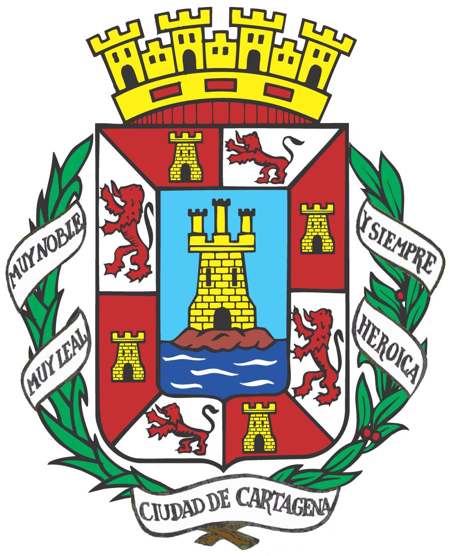 escudo de cartagena espa a   wikipedia la enciclopedia libre