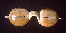 Металлические защитные очки ненцев