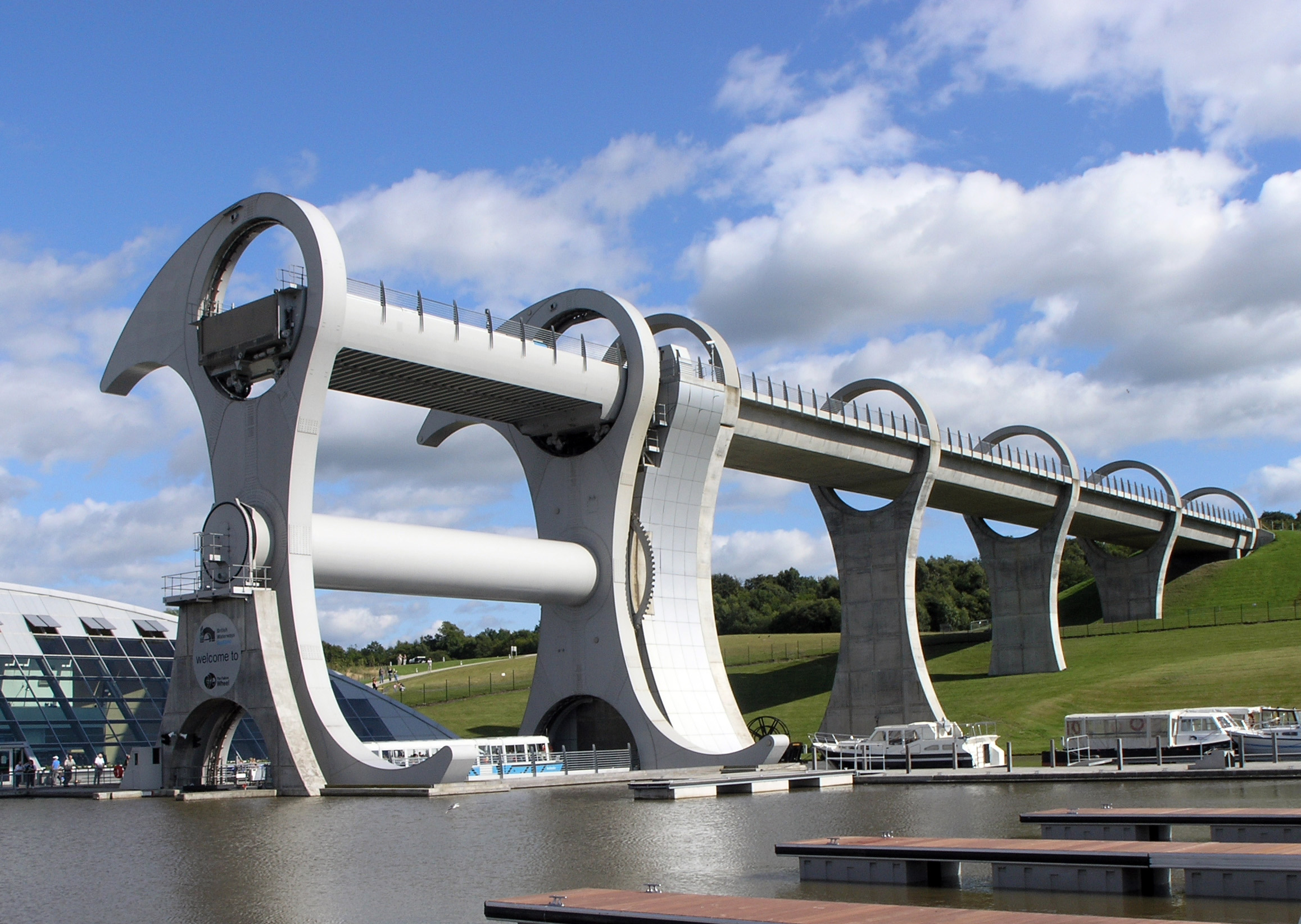 Falkirk Wheel - Wikipedia