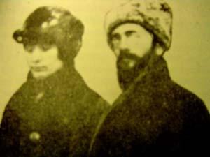 Fanya y Aaron Baron circa 1917-1921