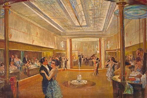 [Event] Ballabend in Pandämonium Felix_Schwarmst%C3%A4dt_Der_Ballraum_I_Klasse_der_Bremen_c1928