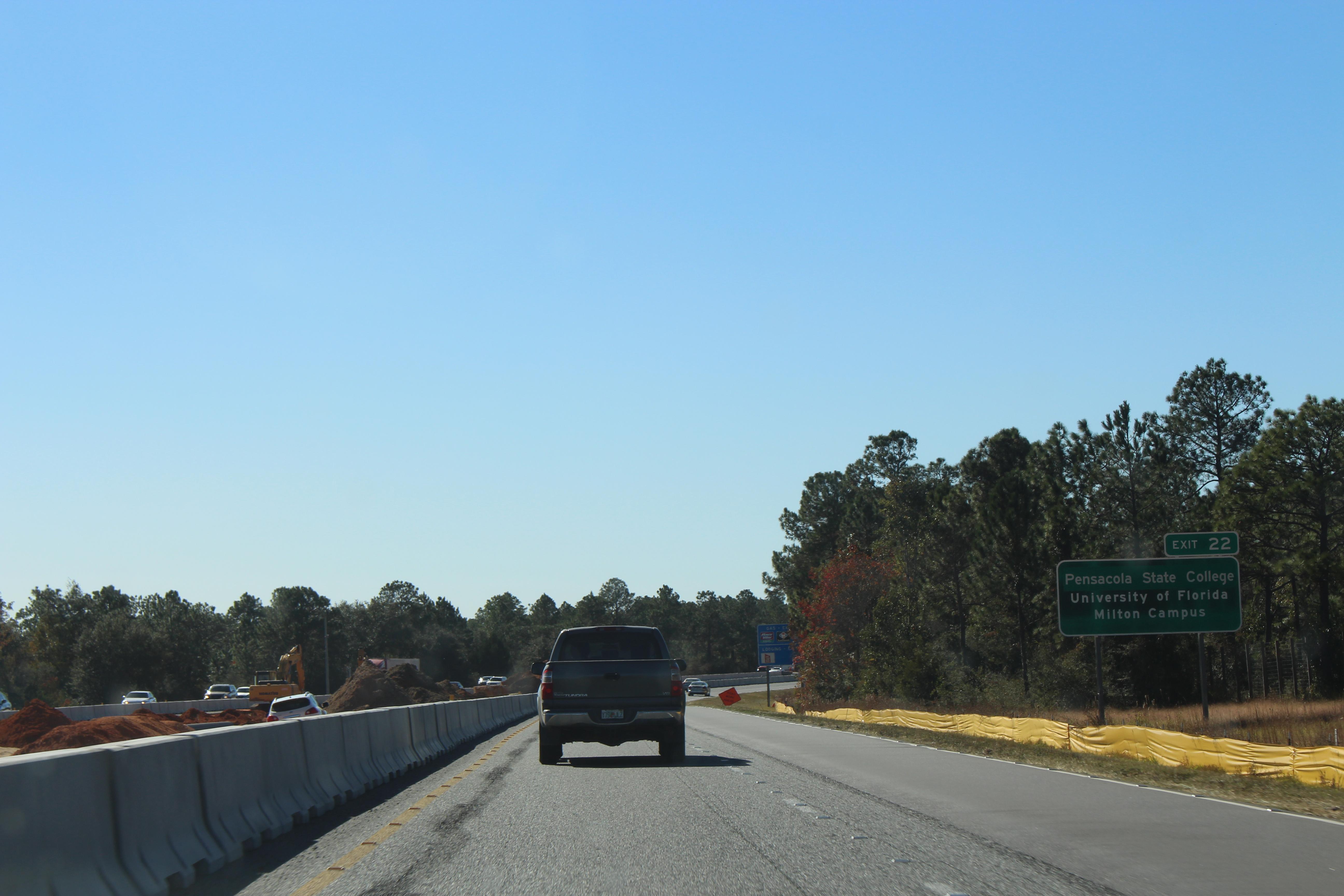 File:Florida I10wb Exit 22 Pensacola State College sign jpg