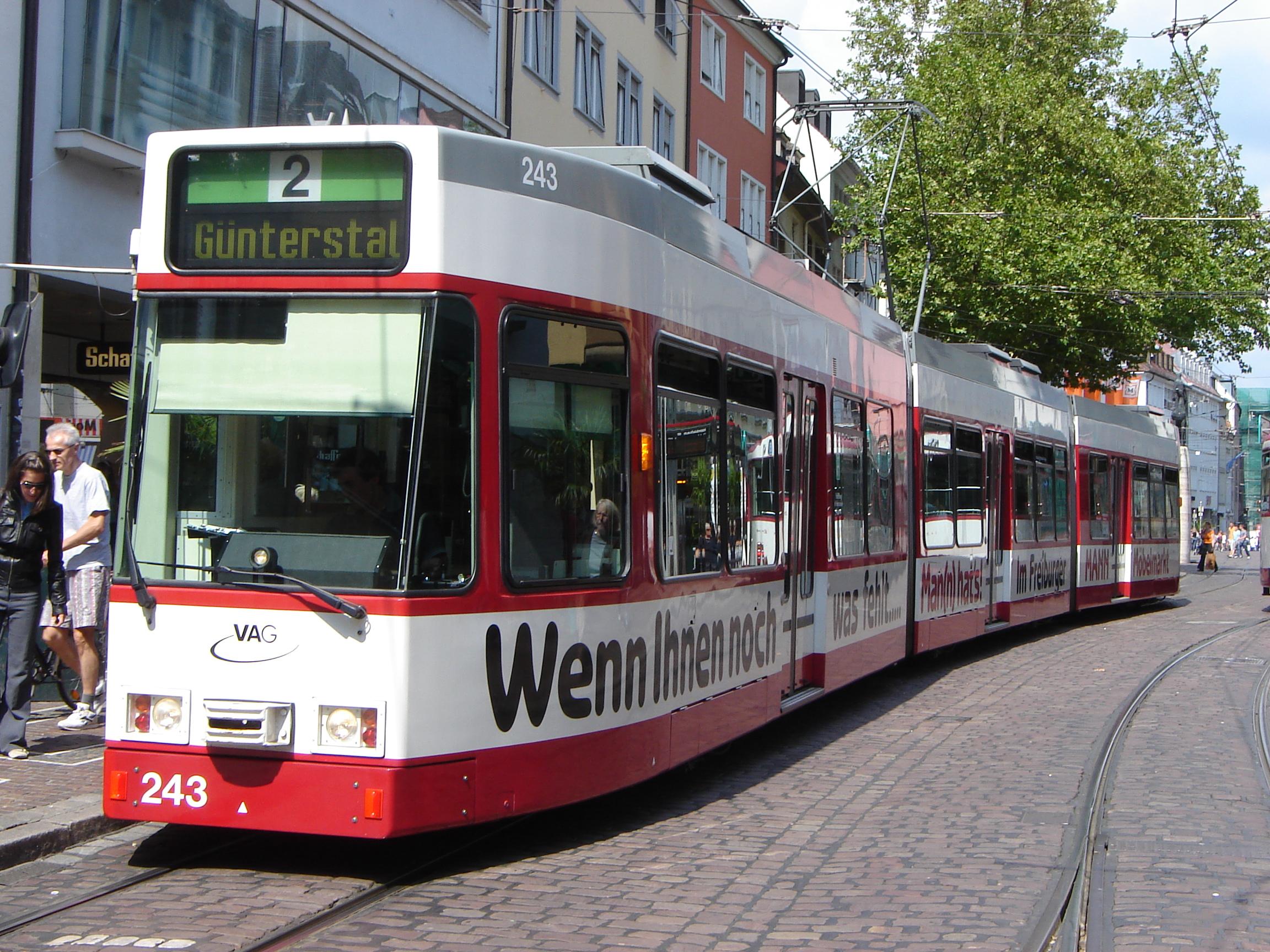 file gt8z tramway de freiburg vag jpg wikimedia commons. Black Bedroom Furniture Sets. Home Design Ideas