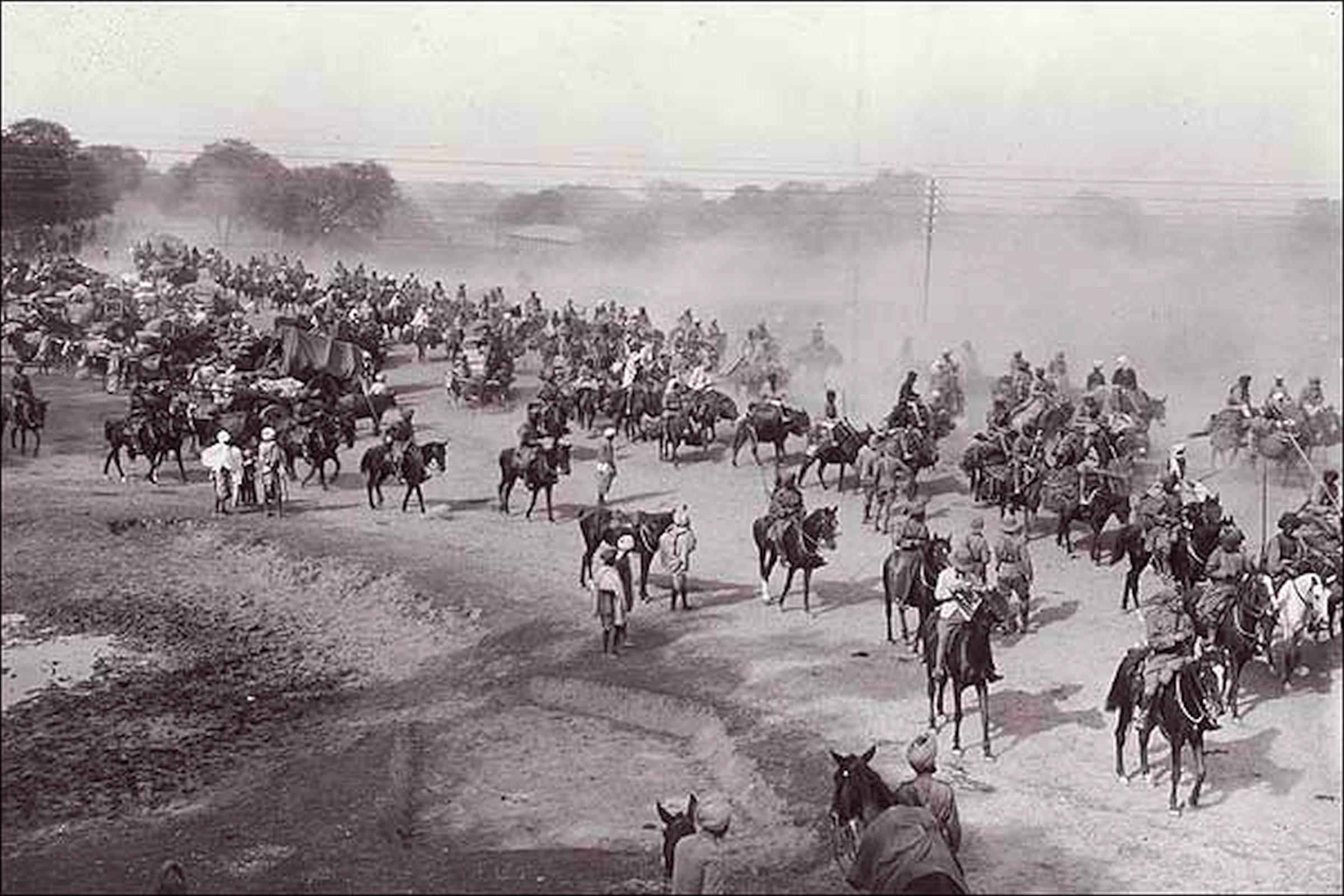 Ambala in the past, History of Ambala