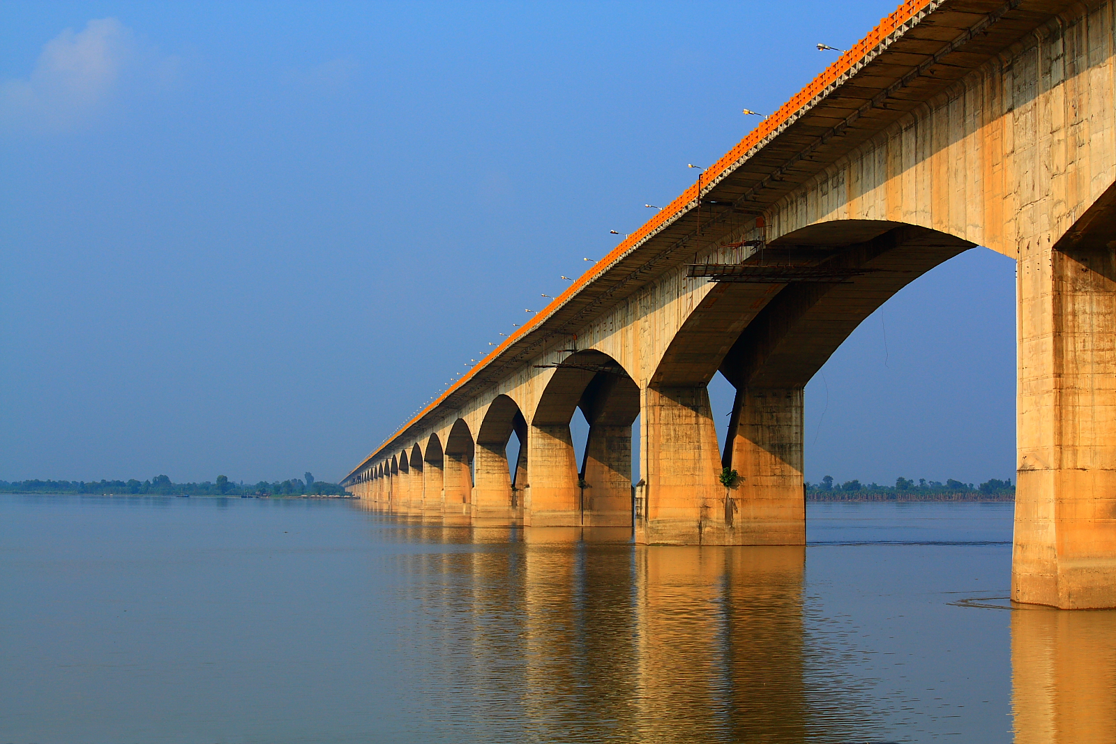 Gandhi Setu connecting Patna with North Bihar