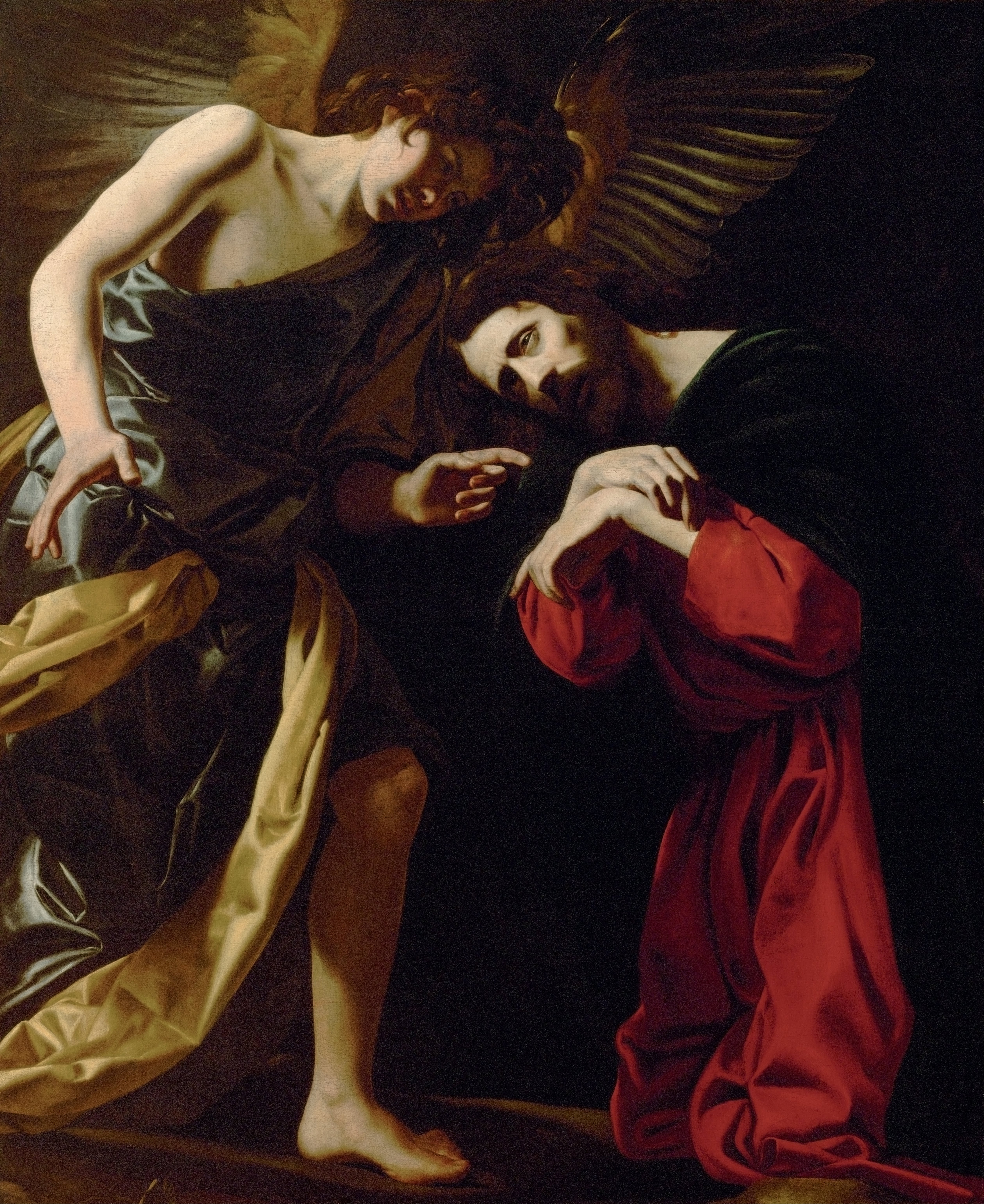 File:Giovanni Battista Caracciolo, called Battistello - Christ on the ...: http://commons.wikimedia.org/wiki/File:Giovanni_Battista_Caracciolo,_called_Battistello_-_Christ_on_the_Mount_of_Olives_(Christ%E2%80%99s_Fear_of_Death)_-_Google_Art_Project.jpg