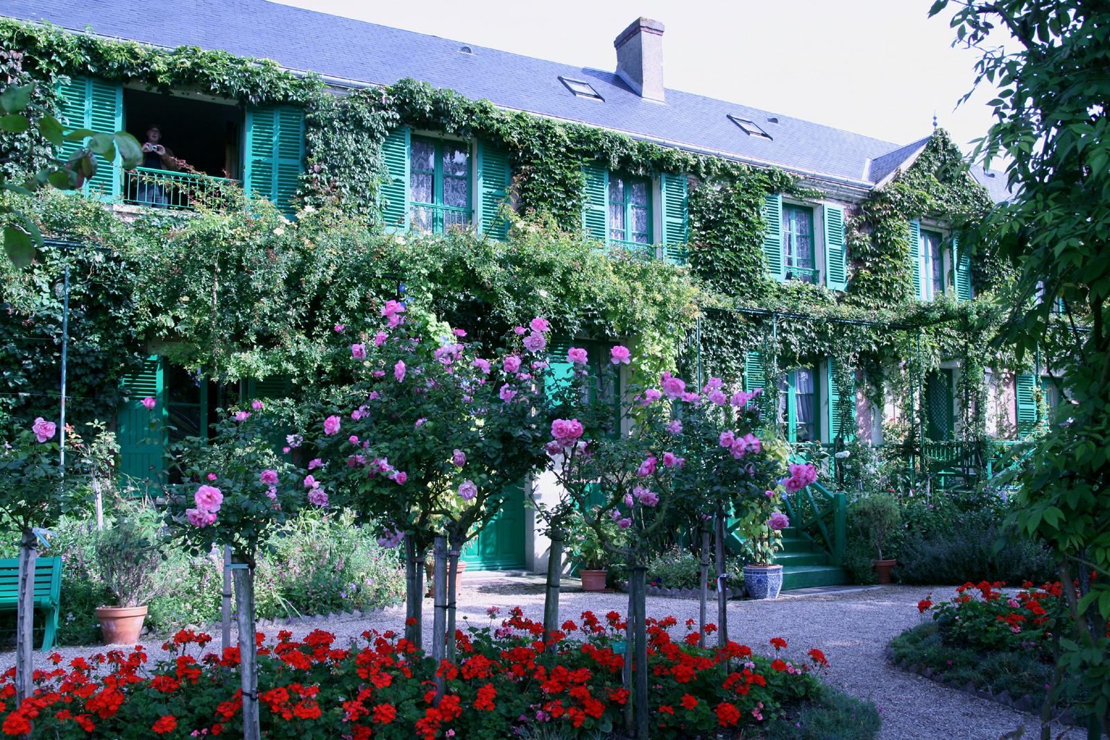 утром нашего сад клода моне живерни франция фото говоришь вшить