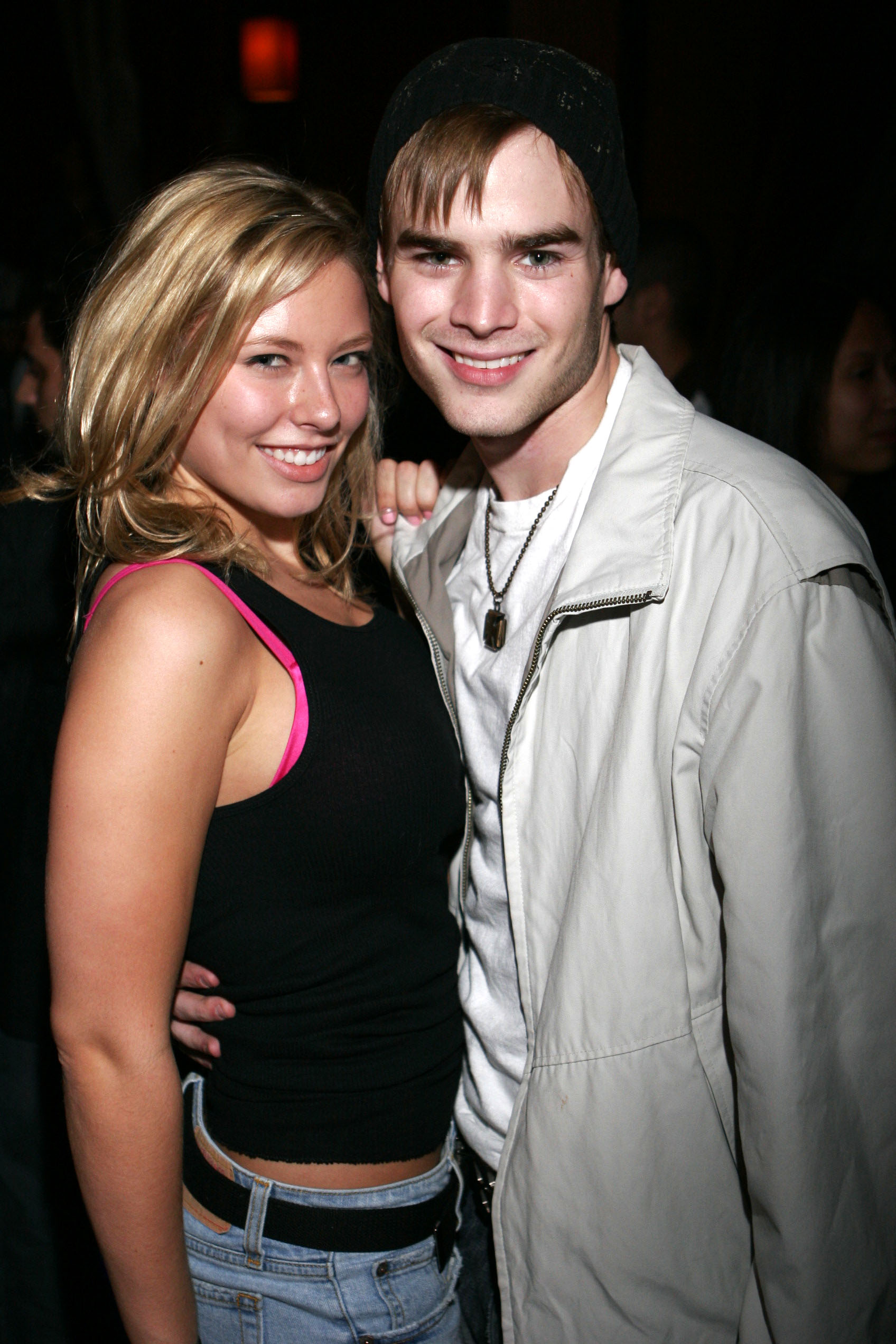 Former boyfriend and girlfriend: David Gallagher and Jillian Grace