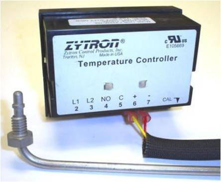 Griddle temperature controller