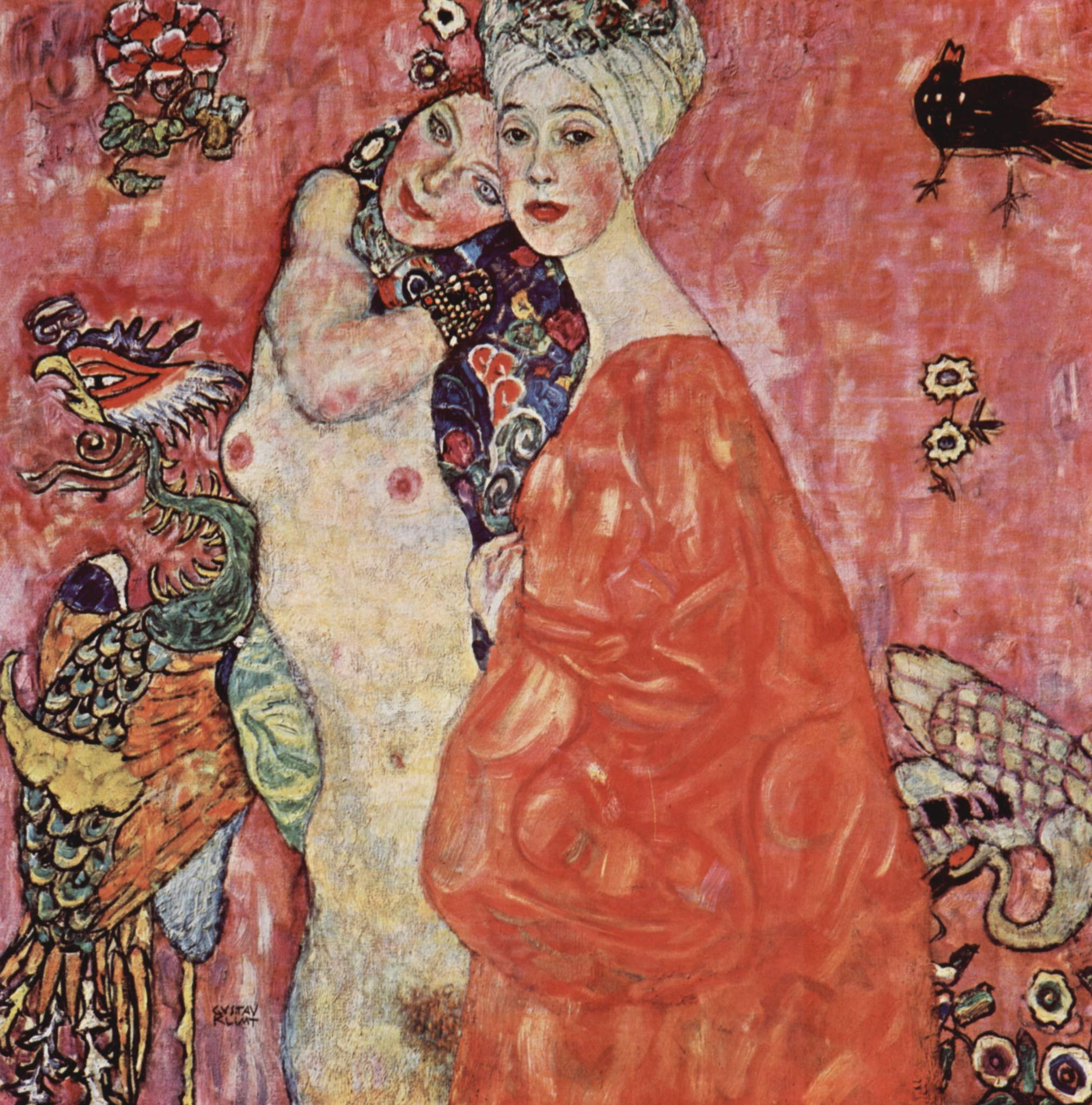 Gustav Klimt Women Paintings