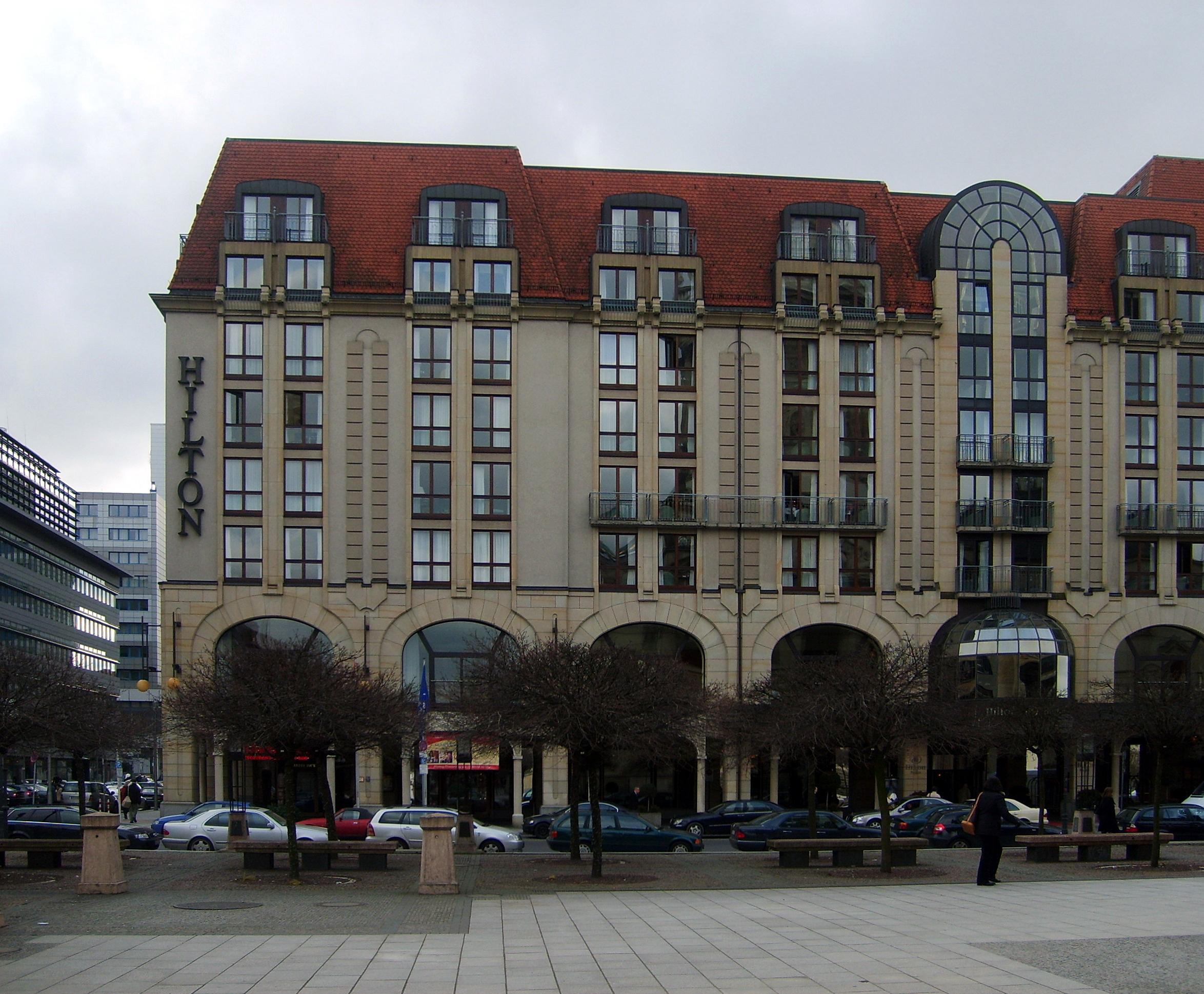 Hilton Hotel Berlin Adrebe