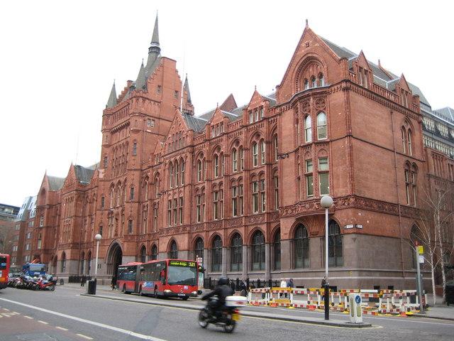 File:Holborn, Prudential Assurance building, 142 Holborn Bars, EC1 - geograph.org.uk - 667958.jpg