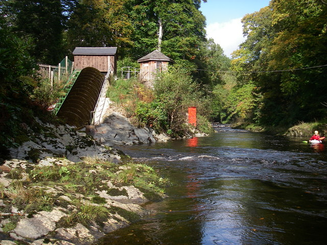Hydro power on the Dart - geograph.org.uk - 1558744