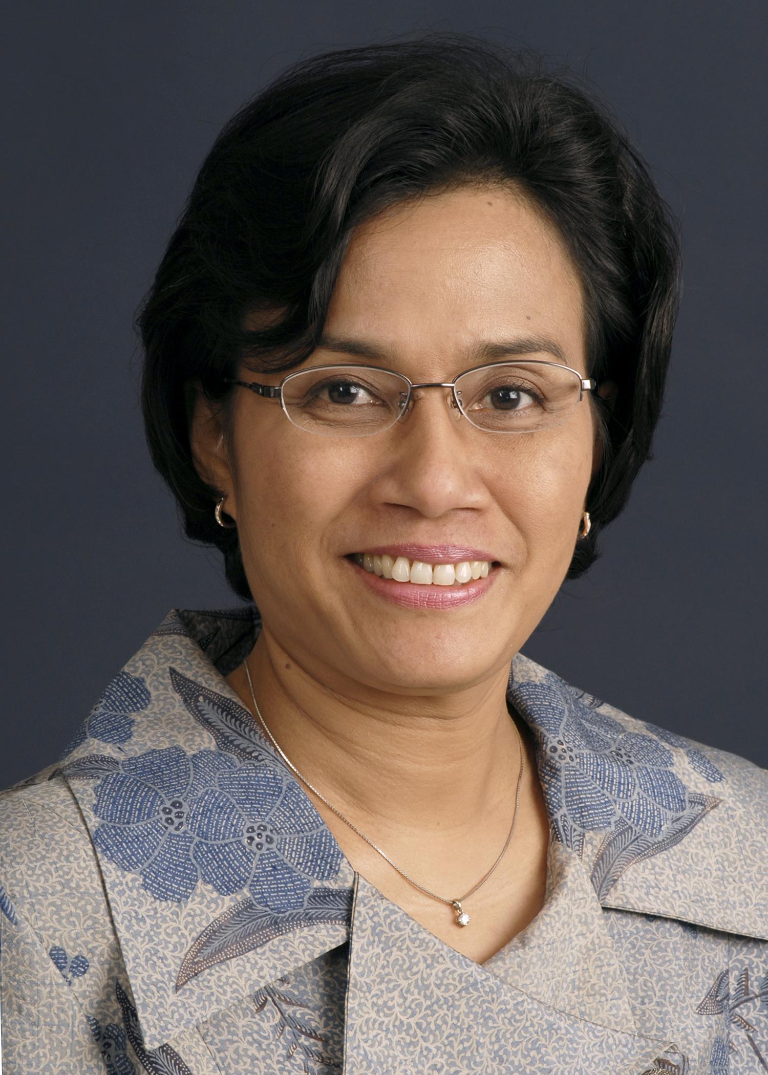 Photo of Sri Mulyani Indrawati